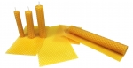 Beeswax candle sheets
