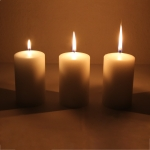 Multiple wick candles for shootings