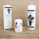 Mourning candles