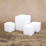 Square candles