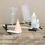 Accessories for candle moulds