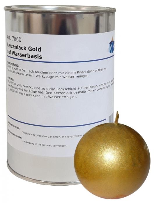 kerzentauchlack gold auf wasserbasis 1 liter 39 95. Black Bedroom Furniture Sets. Home Design Ideas