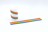 Wax stripes rainbow 2mm