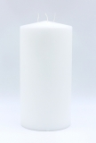 Triple wick candle 300x150