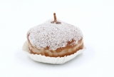 Jelly doughnut w. sugar powder