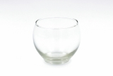 Empty glass ball 80mm