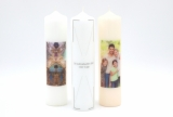 Photo candle 250x60mm