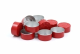 Alu tealight cup Red 39x18