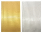 Wax stripes metallic 2mm