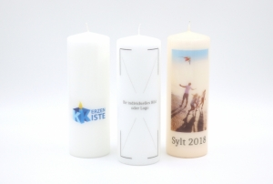 Photocandle 200x70mm