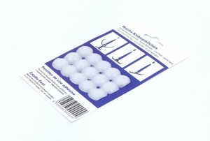 Adhesive wax buttons 15 pcs