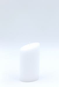 Oval candle small 120mm