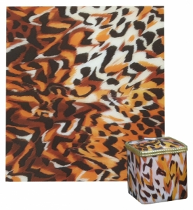 Decoration wax effect tiger
