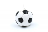 Football candle 70mm
