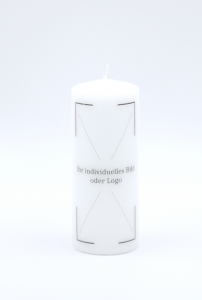 Photo candle 150x60mm