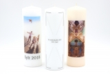 Photo candle 250x80mm