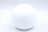 Ball candles white Ø 15 cm
