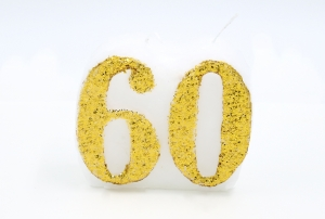 Numbered candle 60