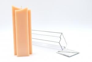 kerzengie form zweispitz ab 11 30. Black Bedroom Furniture Sets. Home Design Ideas