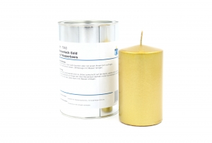 Candle lacq. gold 1000ml