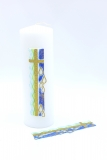 Cross gold-blue 165mm