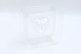 Soap mould heart