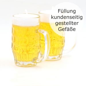 Beer Filling up to 0.25 Liter