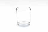 Glass votive clear