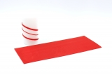 Wax stripes colored 3mm Red