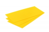 Deco-wax 10x20cm Sun yellow