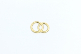 Decoration wedding rings Gold