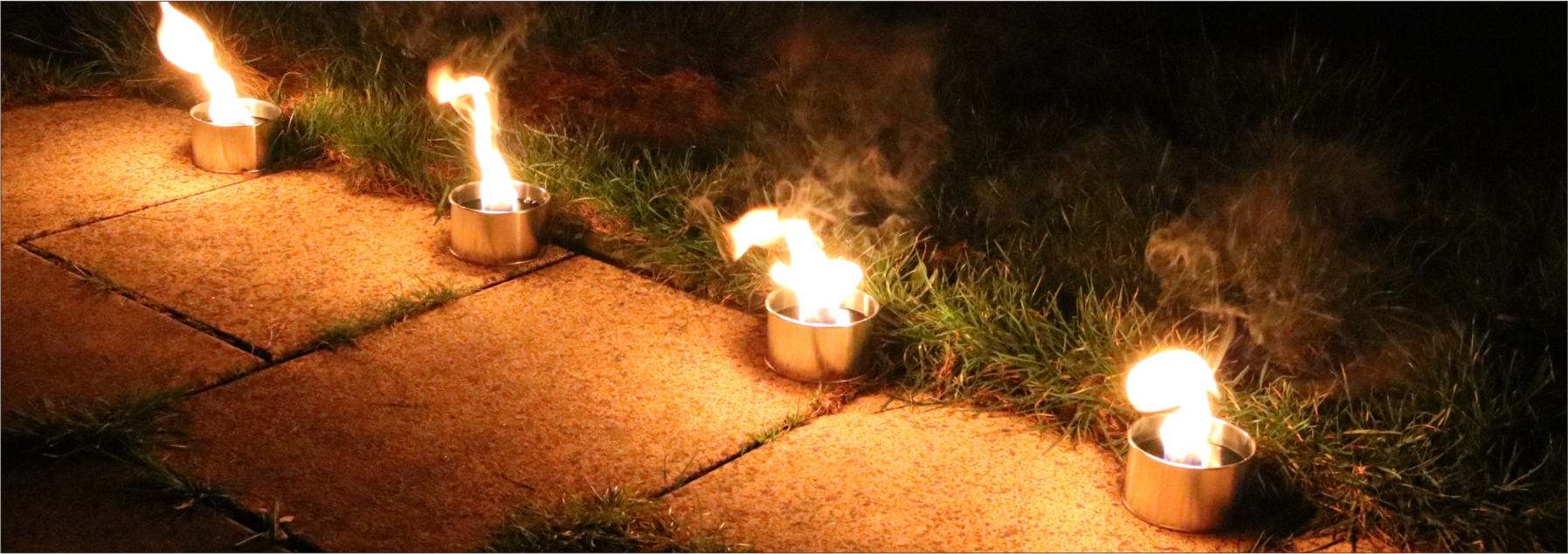 Blechdosenfackeln & Flammschalen